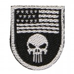 Patch Punisher (Noir)
