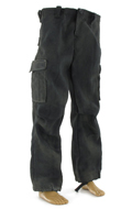 OG-107 Dyed Jungle Trousers (Black)