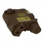Désignateur laser AN/PEQ 15 (Marron)