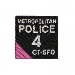Metropolitan Police 4 CTSFO Patch (Black)