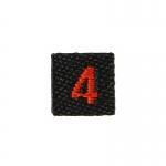 Team 4 Patch (Black)