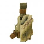 Holster de cuisse 6354 DO ALS (Peau de serpent)