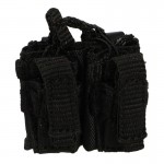 M4 Double Kangaroo Pouch (Black)
