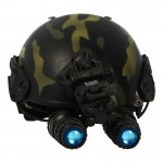 Airframe Helmet with AN/PVS-15 NVG (3 Colors Camo)
