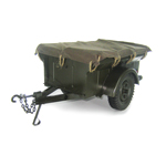 Remorque Jeep willys 1/4 ton