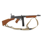 Die Cast and Wood M1928 A1 Thompson Submachinegun