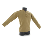 3 Buttons Sweater (Tan)