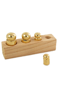 Diecast Weights with Support (Gold)