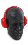 Casque audio (Rouge)