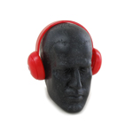 Casque audio (Rouge)