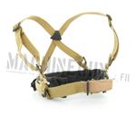 Low drag suspenders w/ rigger belt