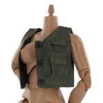 Sleeveless combat vest
