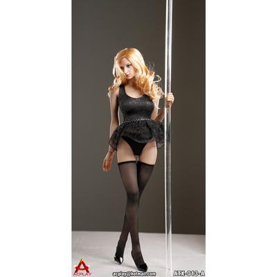 set v tements sexy de pole dance femme noir machinegun. Black Bedroom Furniture Sets. Home Design Ideas