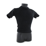 T-Shirt with Shoulders Protections (Black)