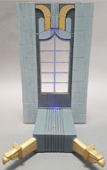 LED Light Up Eastern Building Diorama