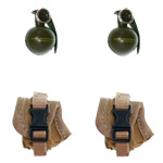 Grenade & pouches