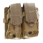 MOLLE system M4 double mag pouch