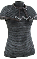 Chest Chain Mail Protection (Grey)
