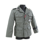 M42 Elite Jacket with Patches (Feldgrau)