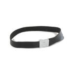 Leather Equipment Belt Elite Buckle (Black)
