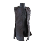 Leather Waistcoat (Brown)