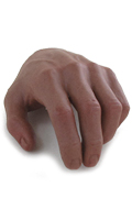 African Male Left Hand