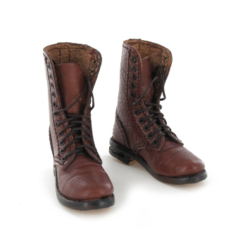 Leather boots (Brown)