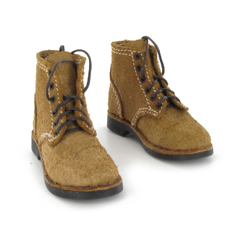 Suede boots (Brown)