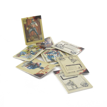Lot de cartes vintage Captain America