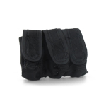 Black triple mag pouch