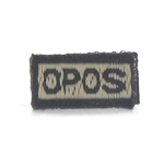 O Pos Blood Type Patch