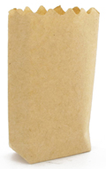Paper Shopping Bag (Beige)
