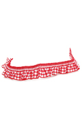 Checkered Curtain (Red)