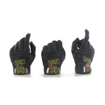 Mechanix black gloves