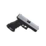 Glock 17 Pistol (Silver)