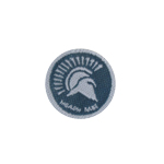 Trojan Patch (Grey)