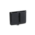 Porte chargeurs Kydex Pistolet Glock (Noir)