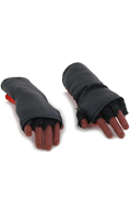 Gloved flexible Hands (Black)