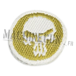 Embroided patch : Scrull