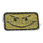 Patch brodé : Mean Smiley Subdued OD