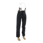 Pantalon à bretelles (Noir)