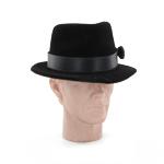 Chapeau rétro (Noir)