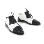 Chaussures bicolores (Blanc et noir)