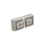 Liasse de billets de banque 100 Dollars