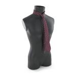 Wine-cloored tie