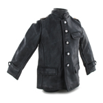 Kriegsmarine Leather Jacket Elite Style (Black)