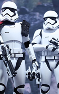 Star Wars : The Force Awakens - First Order Stormtrooper Officer & Stormtrooper Pack