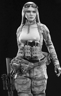 A-TACS FG Double Women Soldier - Jenner (Style B)