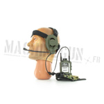 AN PRC radio w/ woodland pouch