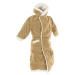 Sheepskin Overcoat (Brown)